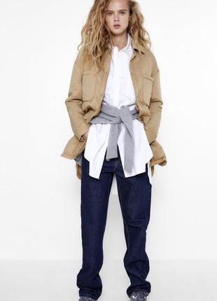 Zara куртка рубашка