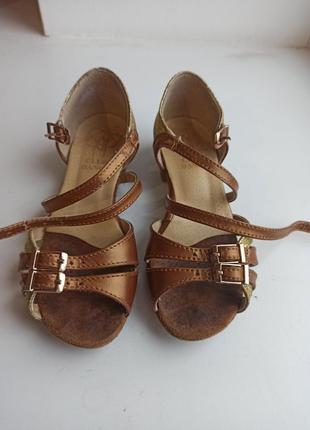Бальные туфли club dance 17,5 см