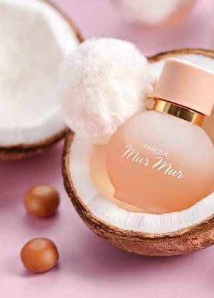 Стойкая парфюмированная вода для женщин mur mur