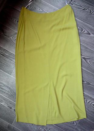 Длинная юбка красивого  цвета  16 размера длина- 92