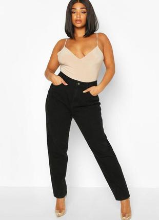 Мом джинсы высокая посадка большой размер батал asos
