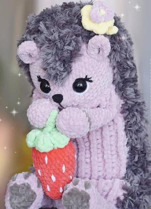 Вязаная пижамница-игрушка