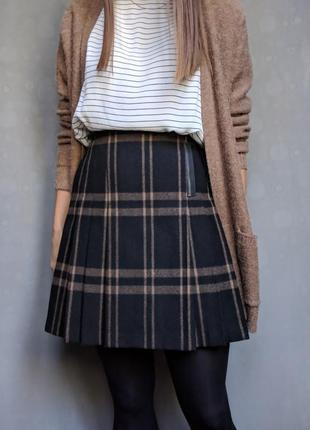 Стильная брендовая юбка marks & spencer шерсть этикетка