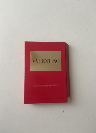 Valentino the new eau de parfum