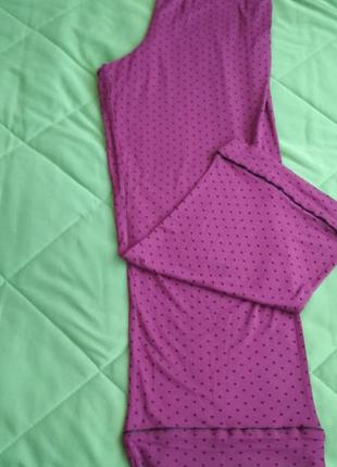 Штаны пижамные для сна 2-3хл вискоза
