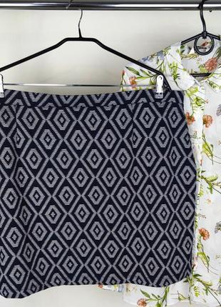Красивая брендовая легкая юбка next турция этикетка большой размер