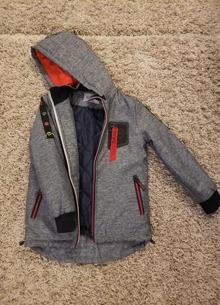 Демисезонная курточка grace мальчику