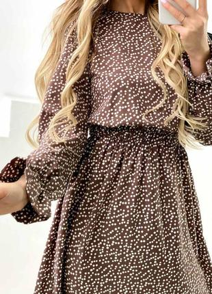 Платье горох
