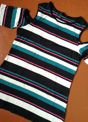 Красивая новая футболка dorothy perkins s-m 38 евро