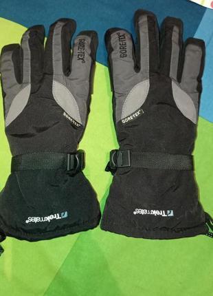 Зимние, лыжные перчатки gore tex trekmates