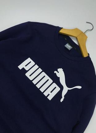 Стильный свитшот оригинал puma