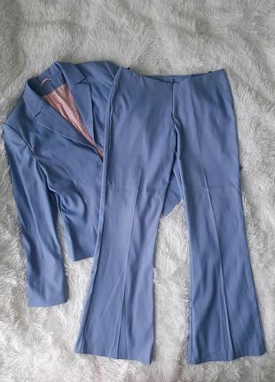 Стильный брючный костюм пиджак жакет и брюки