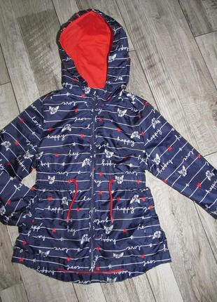 Куртка-ветровка  george 116-122 возраст 6-7 лет.