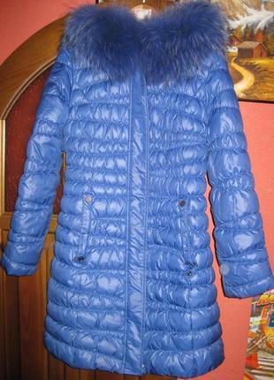 Красивое зимнее пальто 46р. подойдет и на девочку-подростка