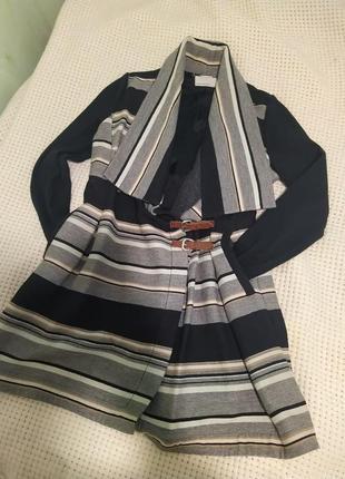 Тренч пальто шерсть шерстяное karen millen оригинал размер m 44