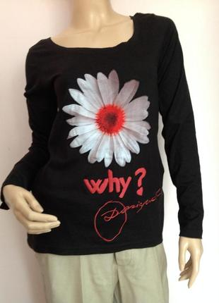 Фирменная  хлопковая блузка /m- l/ brend desigual