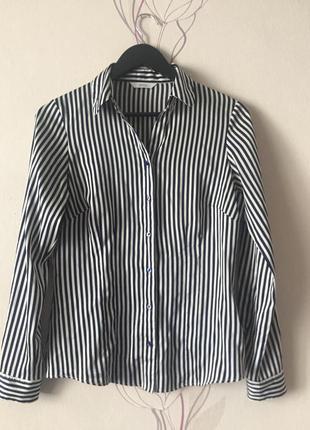 Шелковая рубашка marks&spencer