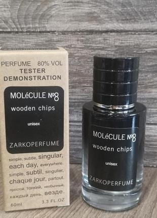 Zarkoperfume molecule №8 wooden chips tester lux, унисекс, 60 мл