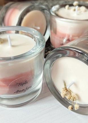 Ароматична свічка з натурального воску