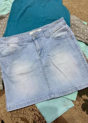 Распродажа! юбка джинсовая