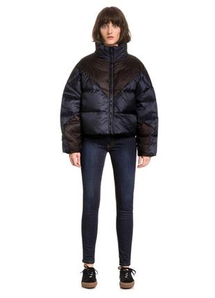 Новый пуффер bimba y lola двухсторонний пуховик куртка на пуху дутик оригинал