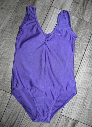 Купальник для занятий гимнастикой, танцами р. 104-110см