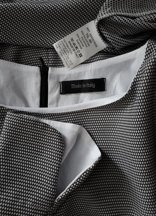 Итальянское платье черно- белый принт (размер 36-38)3 фото