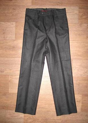 Классические черные брюки, подойдут для школы, новые, р. 44