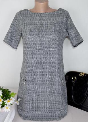 Брендовое нарядное короткое мини платье с карманами dorothy perkins румыния этикетка