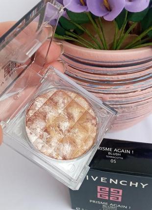 Givenchy румяна хайлайтер бронзатор запечённый для лица с шиммером
