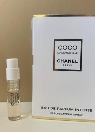 Chanel coco mademoiselle eau de parfum intense пробник