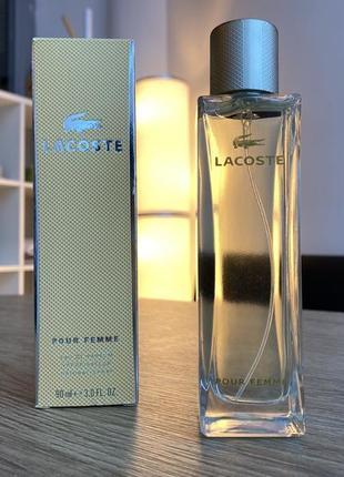 Женский парфюм, духи  lacoste pour femme