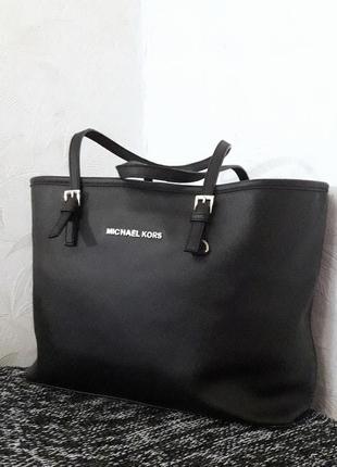 Вместительная брендовая сумка, michael kors