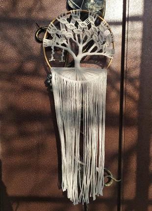 Панно дерево, дерево жизни, ловец снов