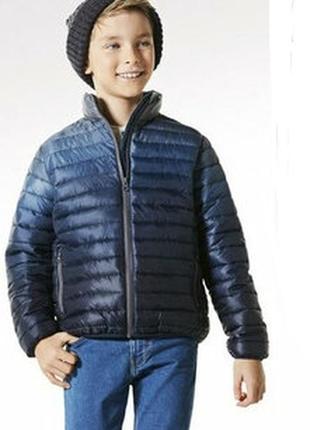 Стеганая ультралегкая демисезонная курточка для мальчика pepperts 140 рост