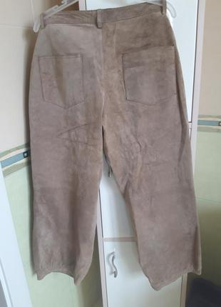 Кюлоты, брюки замшевые