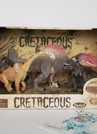 Набор динозавров с подвижными конечностями