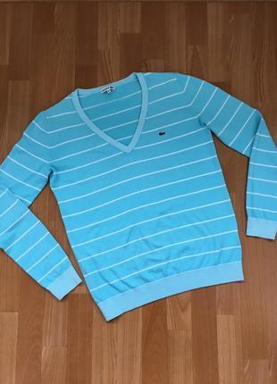 Пуловер-свитер-кардиган lacoste