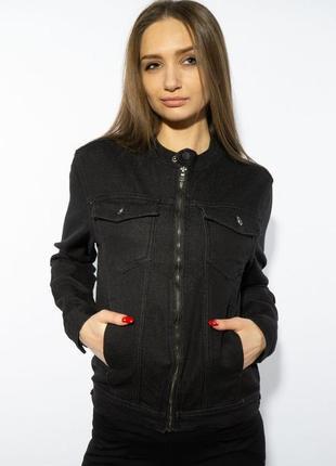 Куртка женская джинсовая   на молнии