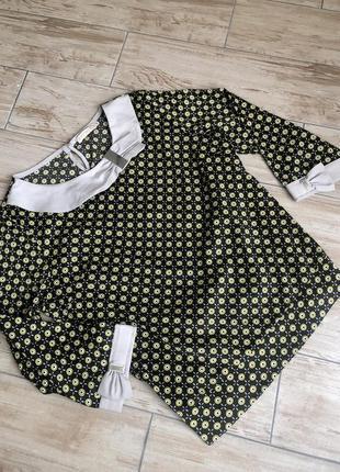 Атласная блуза zaffiro