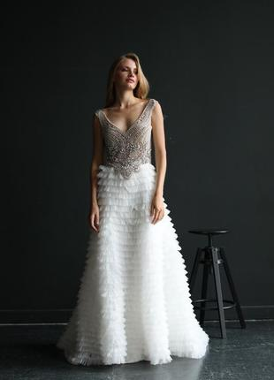 Свадебная юбка gergel couture