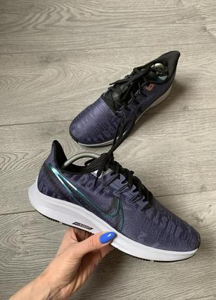 Nike pegasus 36, женские фирменные невероятные кроссовки, р. 40. оригинал