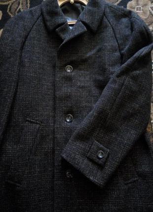 Шерстяное пальто букле c&a 08