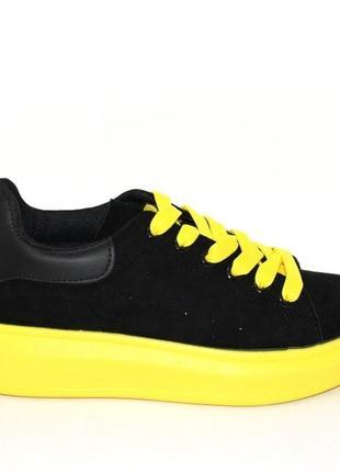 Стильные замшевые кроссы