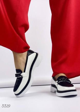 ❤ женские  кожаные туфли  лоферы ❤