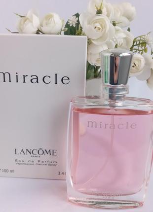 Lancome miracle ланком парфюмированная вода женская духи парфюм тестер женский