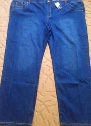 Отличные джинсы men plus батал большой размер 72-74