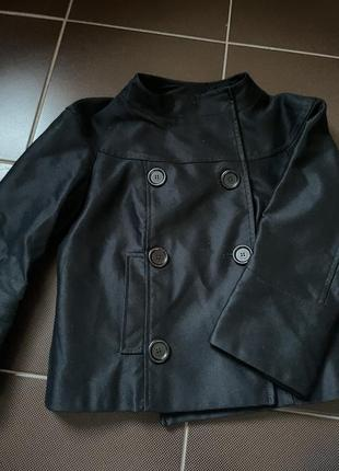 Укороченый пиджак massimo dutti