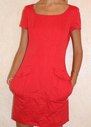 Алое платье от gianfranco ferre