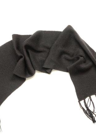 Шерстяной шарф мужской унисекс